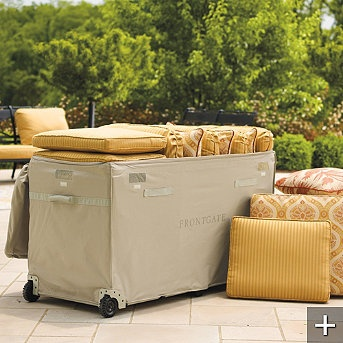 Ultimate Cushion Keeper Home Ideas In 2019 Lawn Furniture Cushions Patio Storage