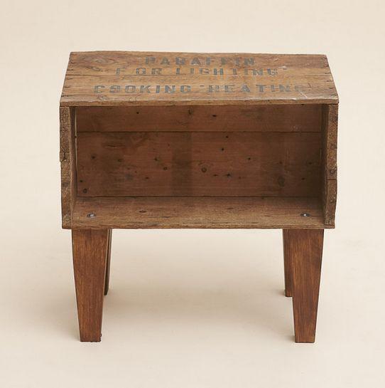 wine box table