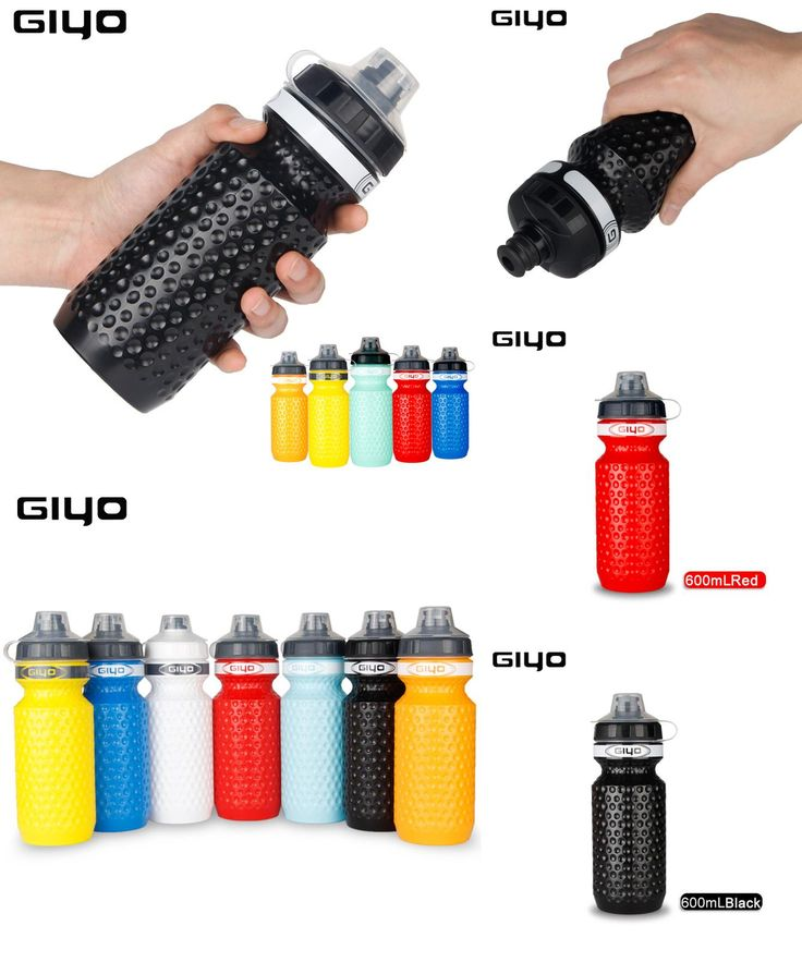 [Visit to Buy] 600ML Bicycle Water Bottle MTB Cycling Camping Cycling Bicycle Plastic Flask Outdoor Bike Kettle Riding Cup 7 Color Dropshipping #Advertisement