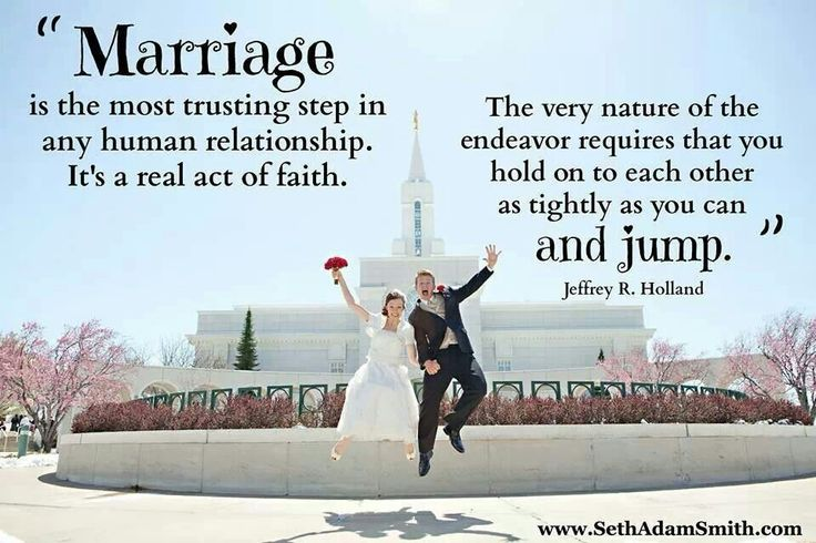 Marriage, lds quotes | Church | Pinterest | To Prove ...