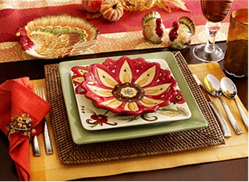 Unique Holiday Dinnerware u0026 Place Settings ? Pier 1 Imports & 19 best Pier 1 is my favorite!! images on Pinterest | Dinner ware ...