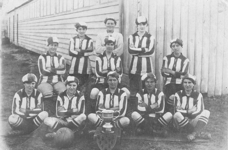 Three Cheers for Blyth Spartans Munitionettes - http://www.warhistoryonline.com/war-articles/blyth-spartans-munitionettes.html