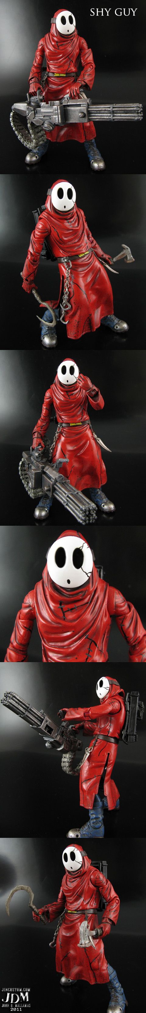 Shy Guy by Jin-Saotome on deviantART