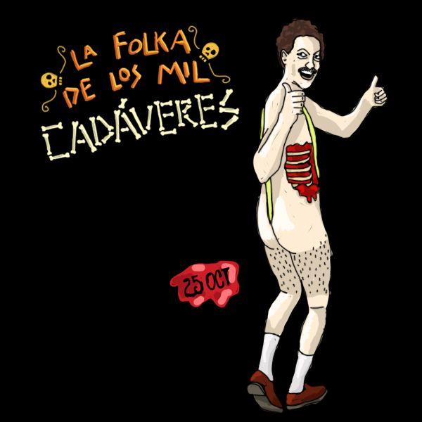 Borat Folka de los Mil Cadáveres  Mara Ilustración