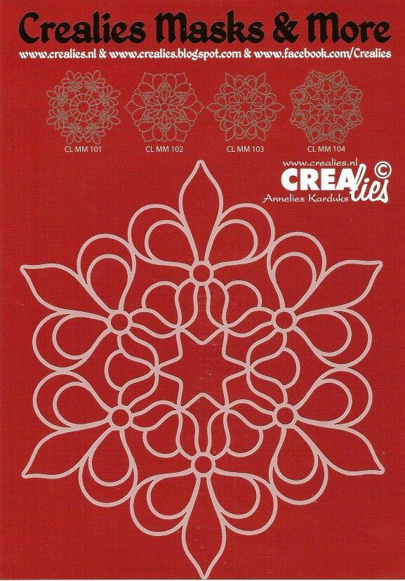 Crealies / Masks & More / CL MM 103
