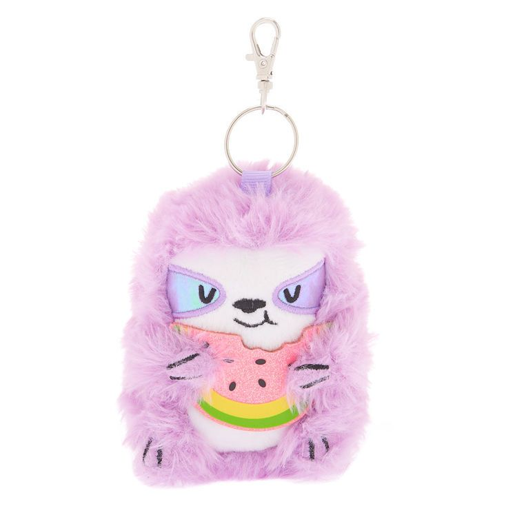 Claire S Sophie The Sloth Plush Keychain Lavender With Images