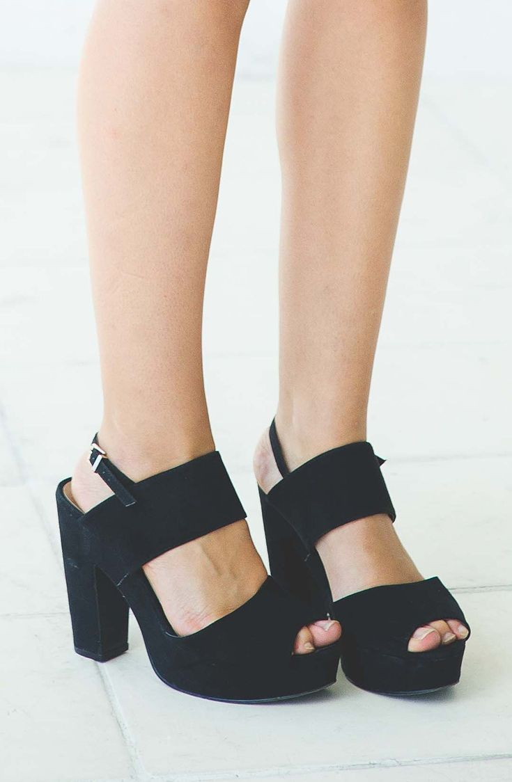 Black sandals on ebay