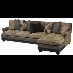high end sectional sofas with luxury comfy chaise lounges - Bernadette Livingston : western sectional sofa - Sectionals, Sofas & Couches