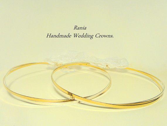 Handgemachte Stefana / orthodoxe Hochzeit von RaniaCreations, €83.50