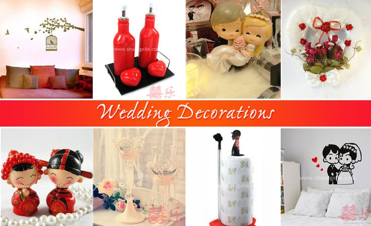 Wedding Decorations by Shuang Xi Le