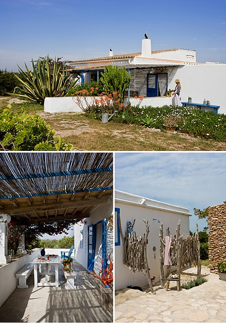 summer house on formentera by the style files, via Flickr