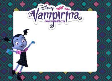 Marcos De Vampirina Disney Marcos Infantiles En 2020
