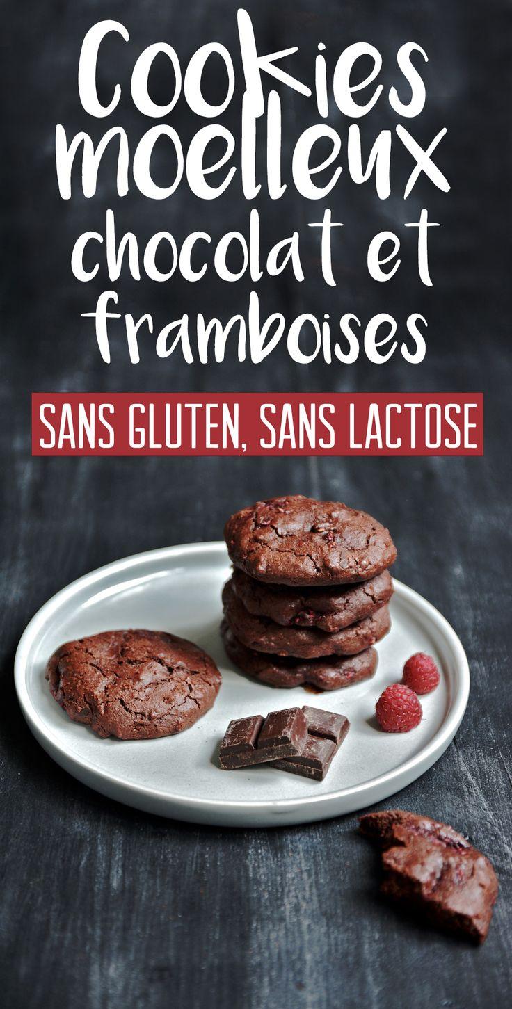 Ma recette de cookies sans gluten et sans lactose très forts en chocolat, assez rapide à réaliser !