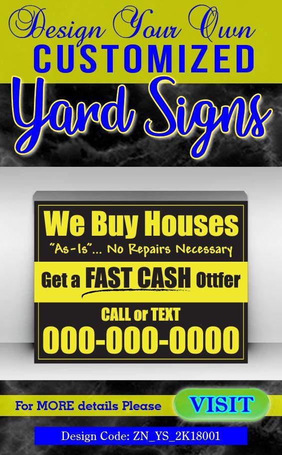 zahidul_nahid I will design yard signs, lawn signs
