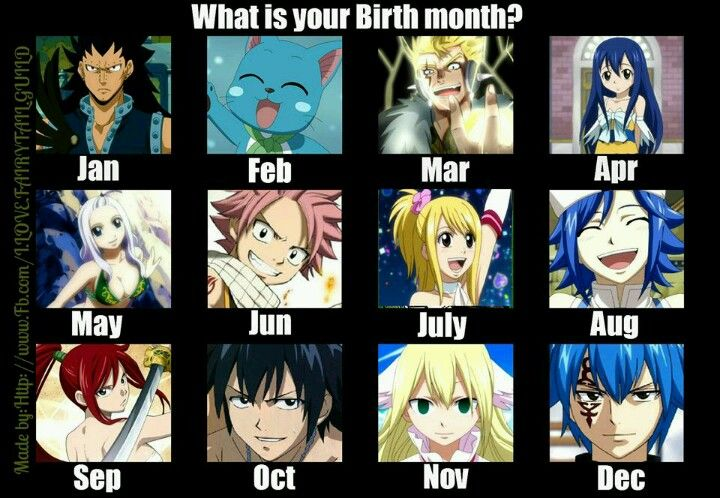 Anime Characters Born On December 7 : Mine s natsu yayy all fairy tail fans should tell
