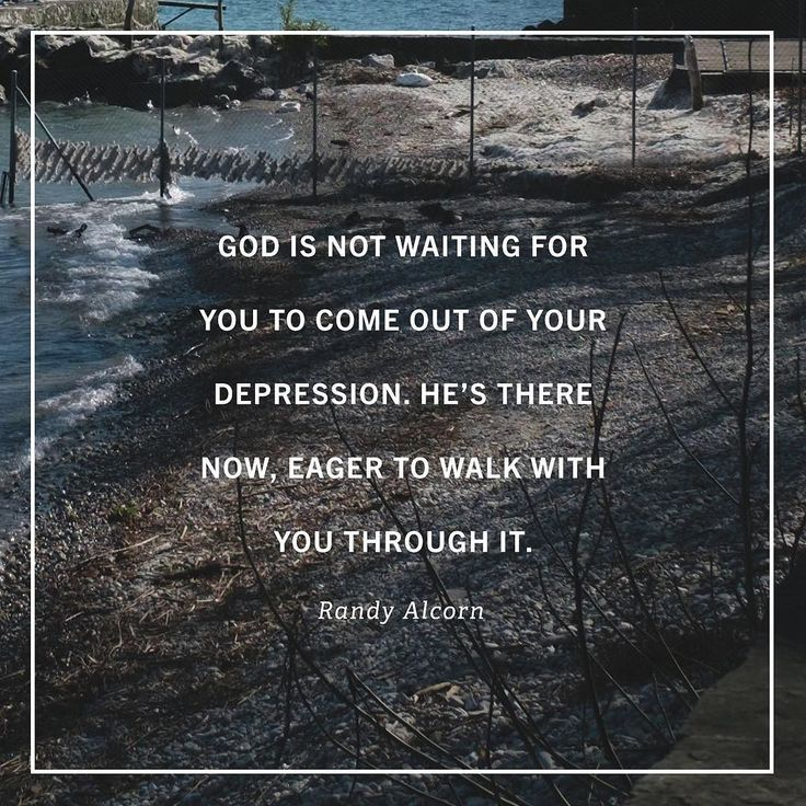 """Author Randy Alcorn is no foreigner to depression. He has journeyed through dark seasons  once for four months on end  and offers this word of hope to the Christian: 'God is there with you in the depression.'  Dont wait till the depression passes to seek God advises Alcorn. Hes not waiting for you to come out of it before walking with you but hes eager to walk with you in the midst of it.  Over the years during his seasons of depression Alcorn has learned to lean on Gods means of grace  his…"