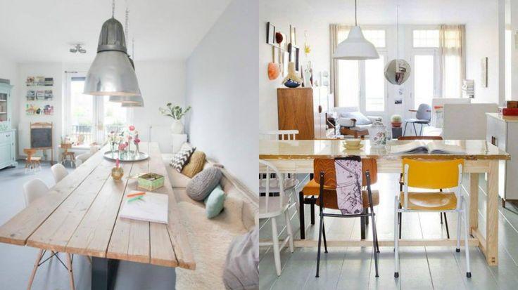 Les codes de l'aménagement intérieur évoluent. La salle à manger devient un espace de jeux, de devoirs, de travail même ! Adieu les diners protocolaires !