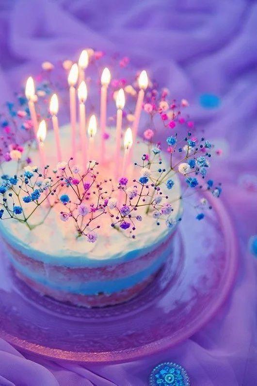 Волшебные картинки с днем рождения, режим ожидания включен