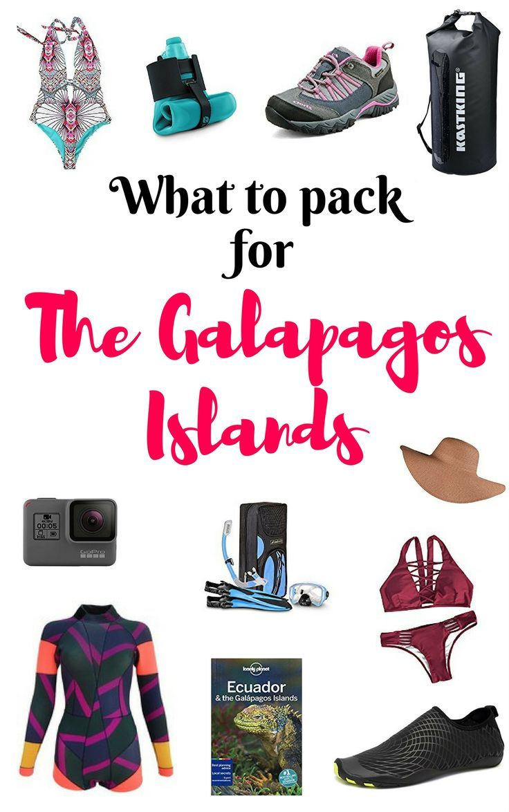 One of the most important ways to prepare your trip is to know what to pack. Here is my top list of what to pack for a trip to the Galapagos Islands.