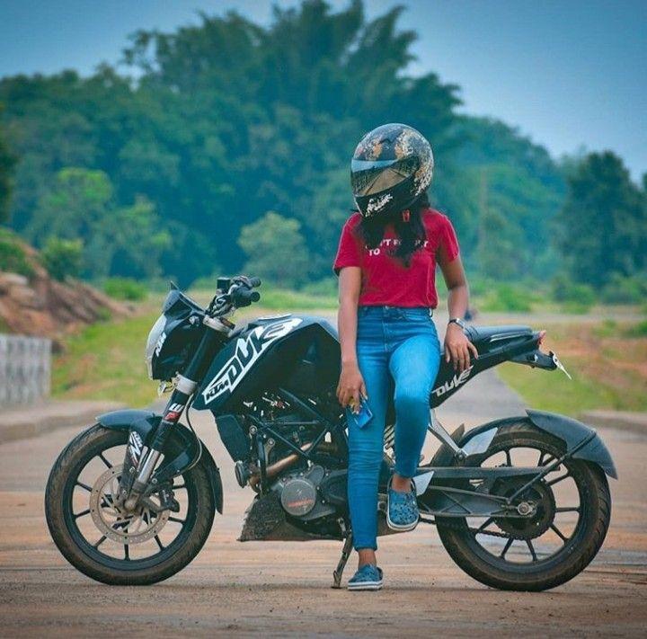 Pin By Najhni Kurrey On Biker Girl Bike Photoshoot Bike Pic Stylish Bike Get ktm duke couple wallpaper png