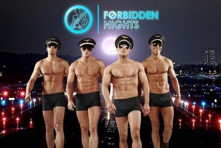 Forbidden Nights Show, Cocktail & VIP Club Entry