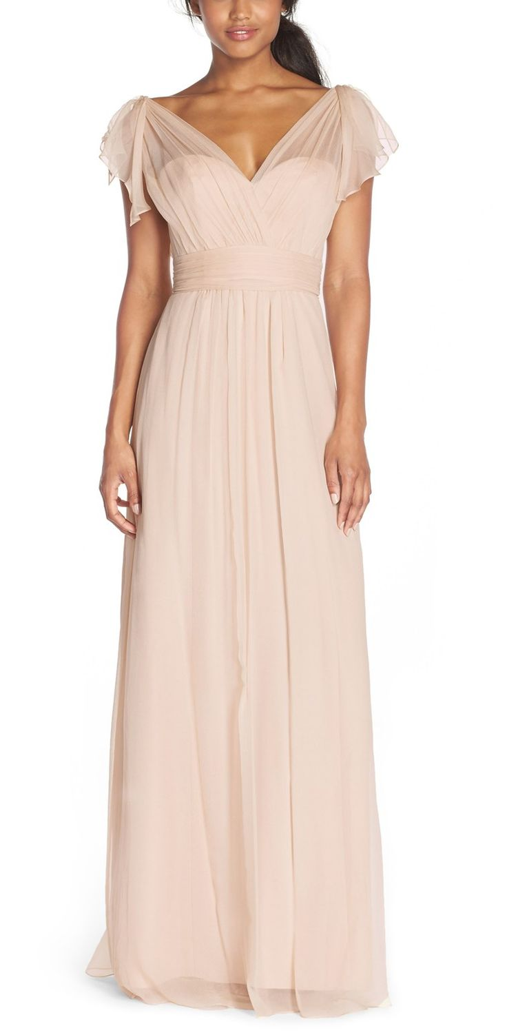 This dreamy silk chiffon please!