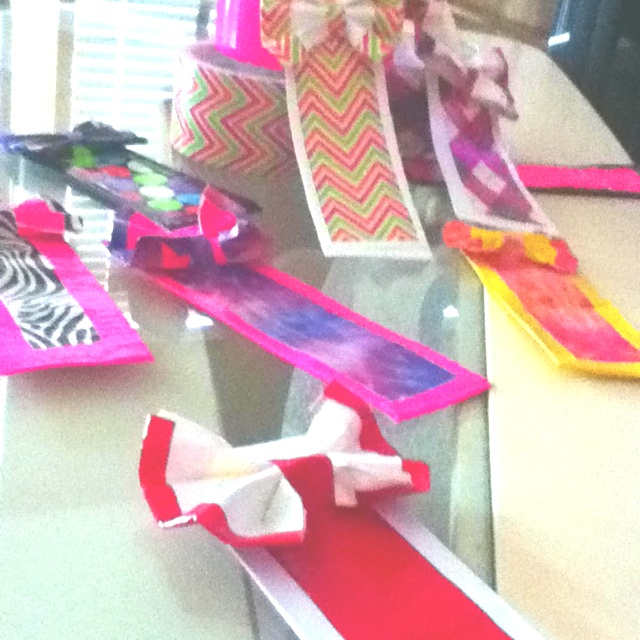 duct tape bookmark super cute and easy idea duct