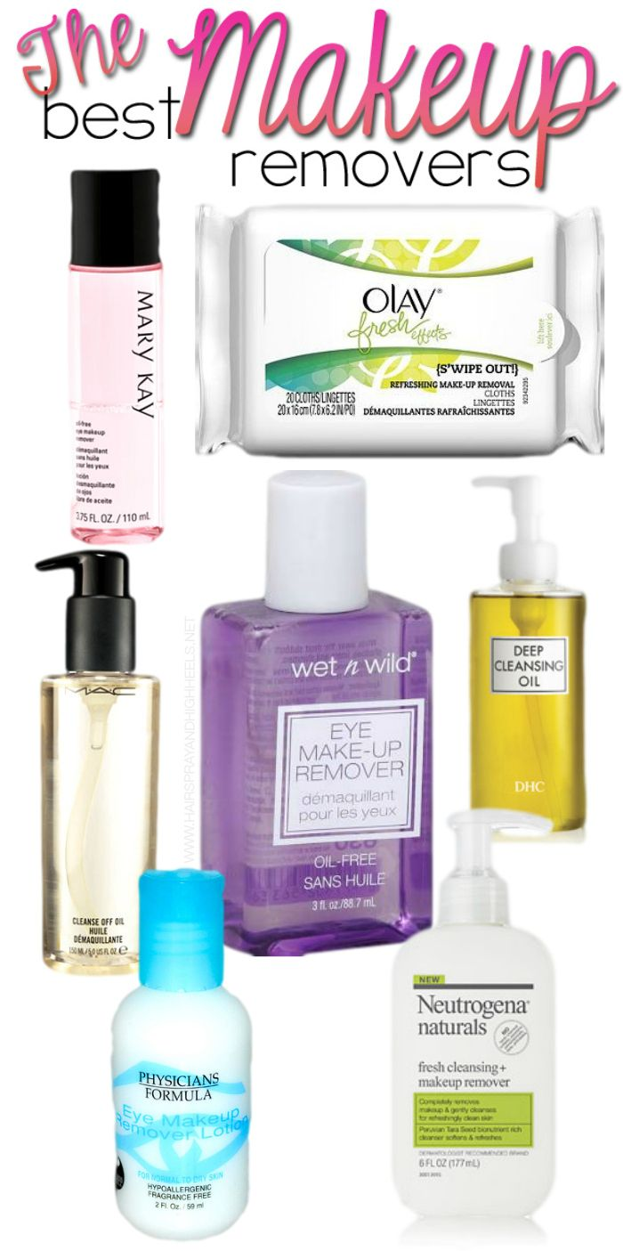 Best Makeup Removers Of Productakeup Remover