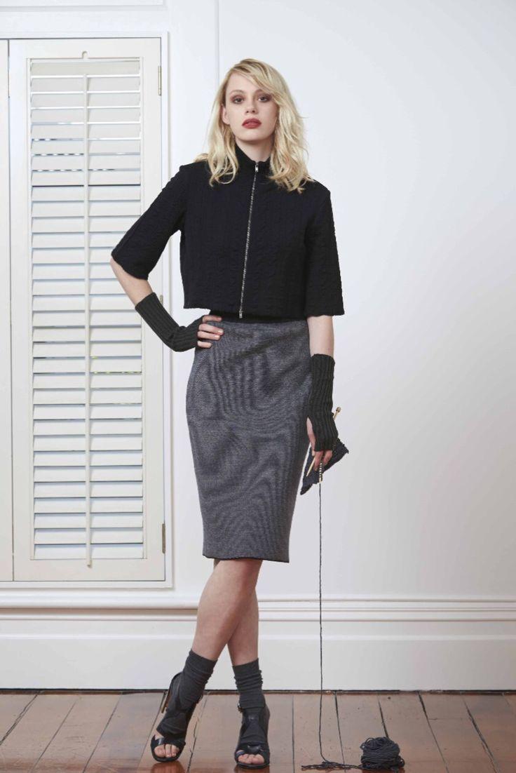 Standard Issue Check Mate Jacket & Tweedy Pie Skirt