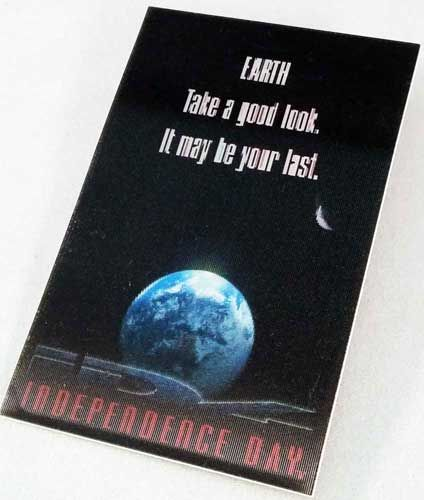 1996 Independence Day ID4 Pin Badge. Limited Edition Hologram.