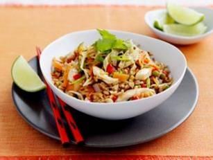 Nasi Goreng Style Brown Rice