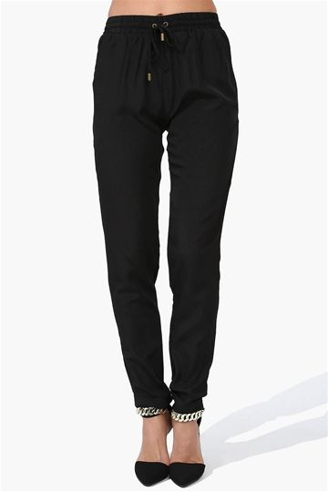 Kate Harem Pants in Black