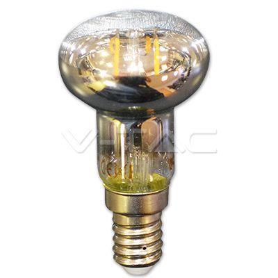 2,86€ Filamento LED 2W E14 R39 Bianco caldo  SKU: 4309 | VT: VT-1961
