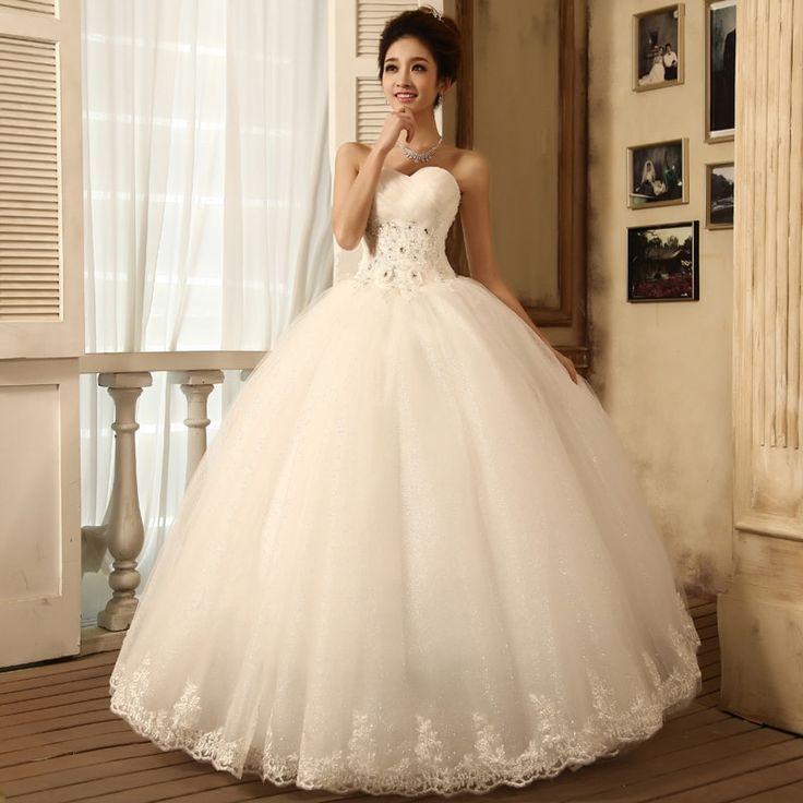 vestido para noiva simples princesa