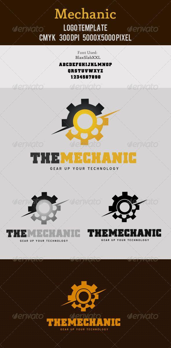 12 best mechanic logos images on pinterest logo ideas