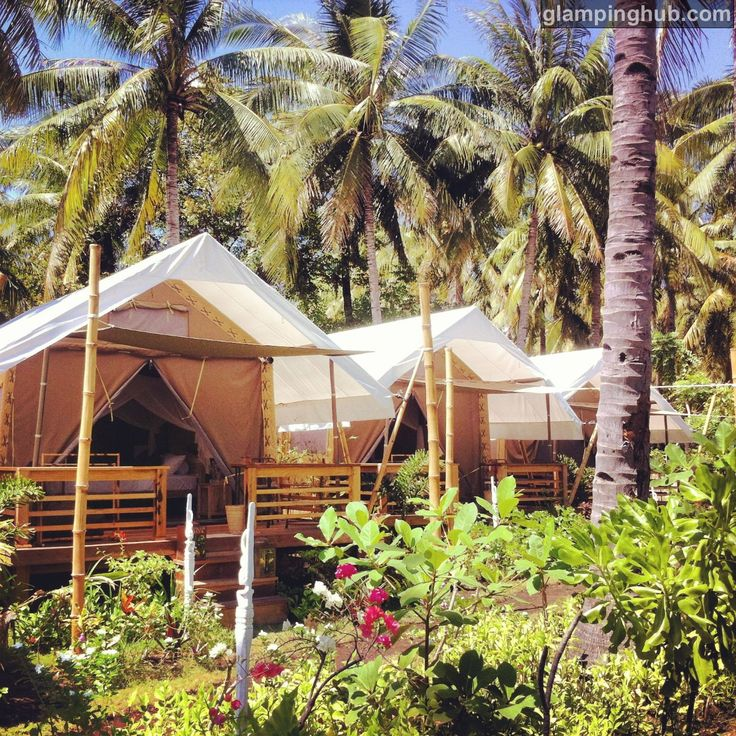 Luxury Tents Indonesia | Island Glamping Indonesia