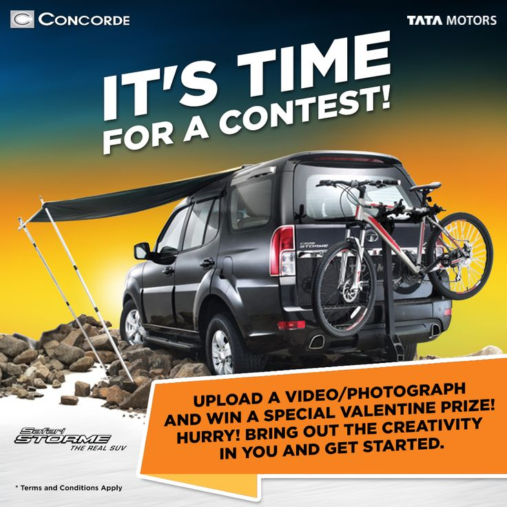 Upload And Win Concorde Motors Is Launching A Special