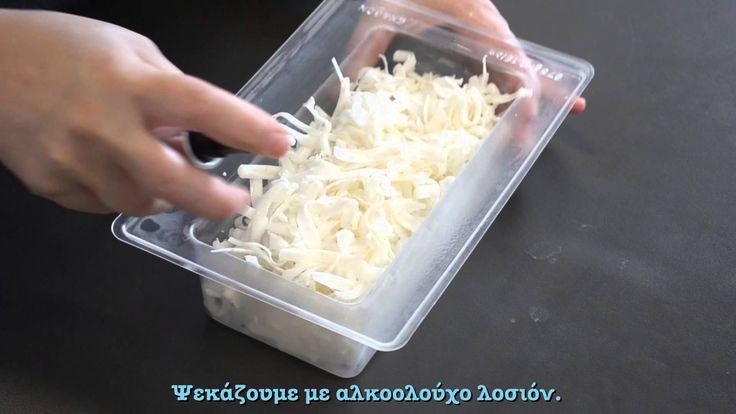 Σαπούνι Γλυκερίνης: Τεχνική embedding με τρίμματα σαπουνιού