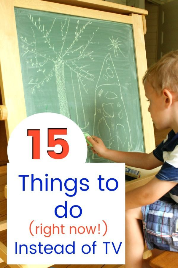 15 Things To Do Instead Of Tv No Prep Independent Right Now