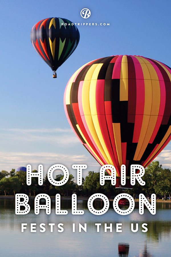 Five Hot Air Balloon Festivals to get your head in the clouds. I've always wanted to ride in one!