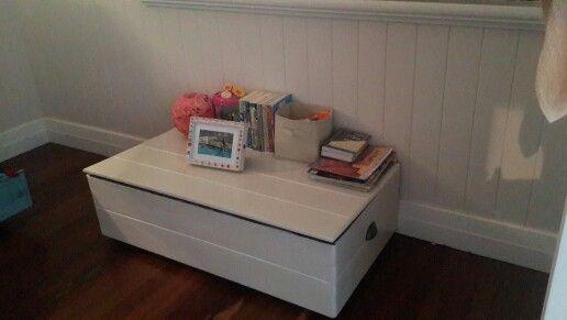 DIY toy chest