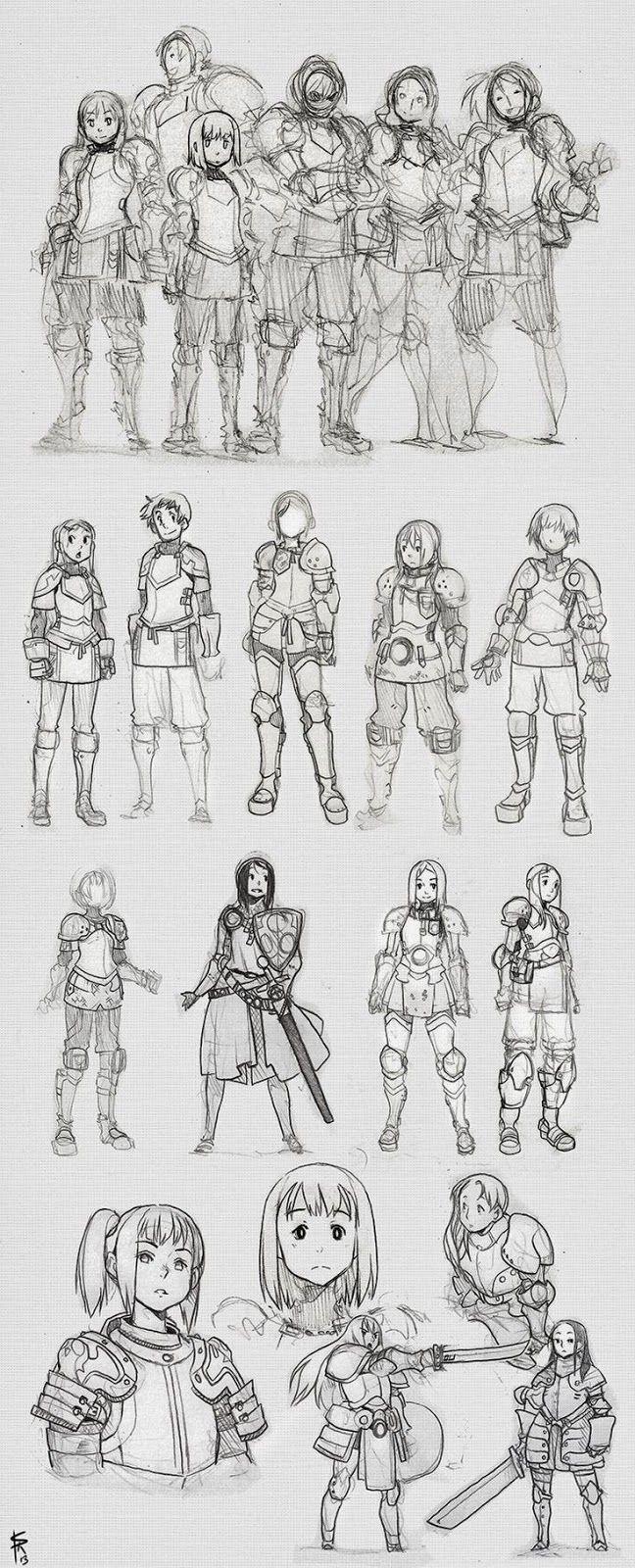 [Artes] 20 Referencias para Dibujar Caballeros y Paladines. « Neoverso
