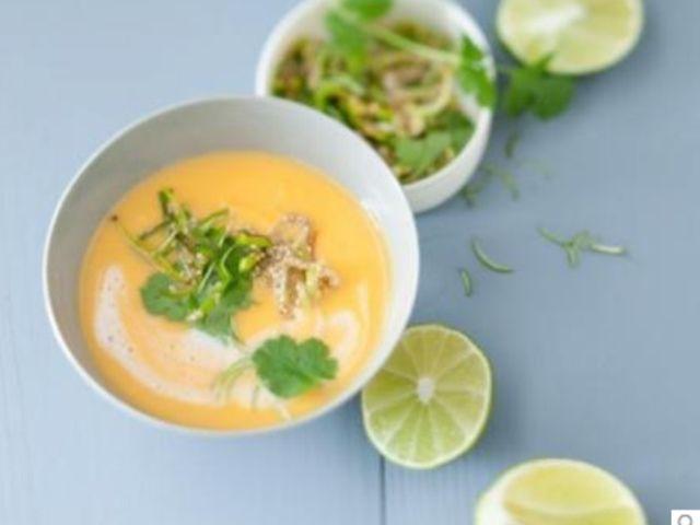 glam up your lifestyle: Kartoffel-Suppe mit Kokos und Limetten