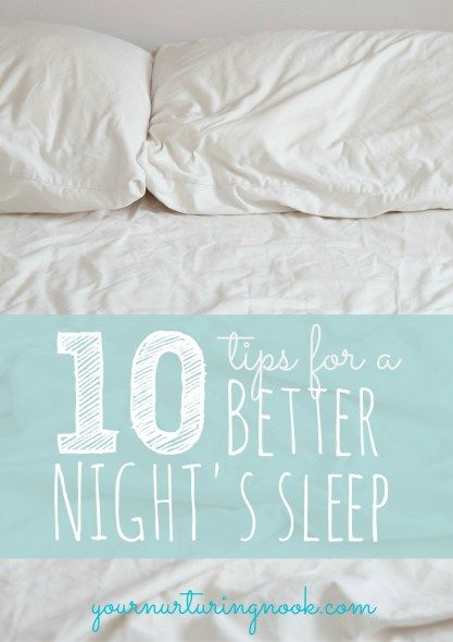 Getting enough sleep, something not always easy for moms, is critical for our mental and physical well-being. It's also important for our growing children whose minds are learning and processing new information and experiences everyday. A well rested family also makes for a more peaceful family. Here are my top ten tips guaranteed to give you a better night's sleep!