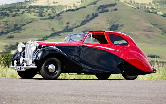 1949 Bentley Mk VI Sedanca Coupe - Gooding & Company Presale estimate: $200,000 - $250,000 Hagerty Price Guide: N/A Final price: $126,500