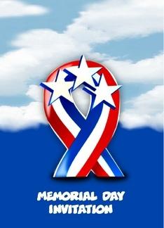 memorial day ribbon coloring page