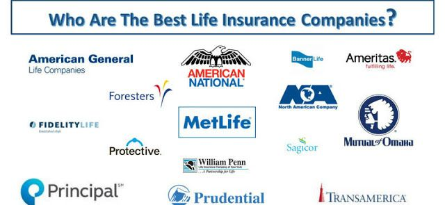 Best Life Insurance Companies In Us 2019 Life Insurance Companies Best Life Insurance Companies Best Term Life Insurance