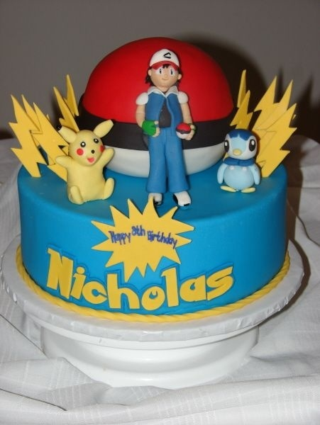 Pokemon Cake Cake Decorating Pinterest Pok 233 Mon Cake And Birthdays