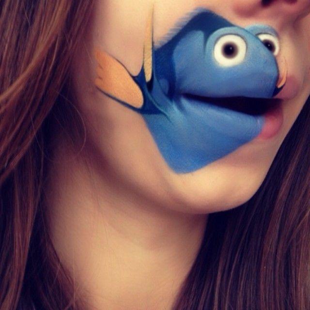 Artista recria personagens de desenhos animados em seu rosto usando maquiagem — Cenapop