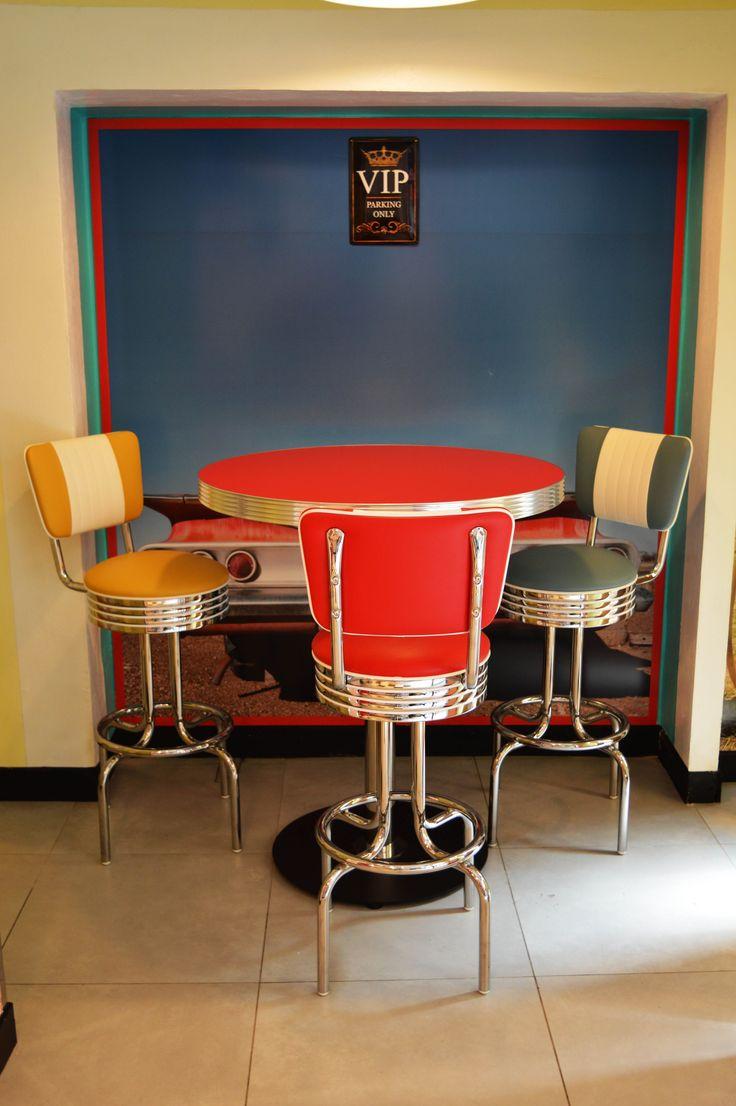 arredo annni 50 #lusima #arredamento americano anni 50 #arredo vintage ...